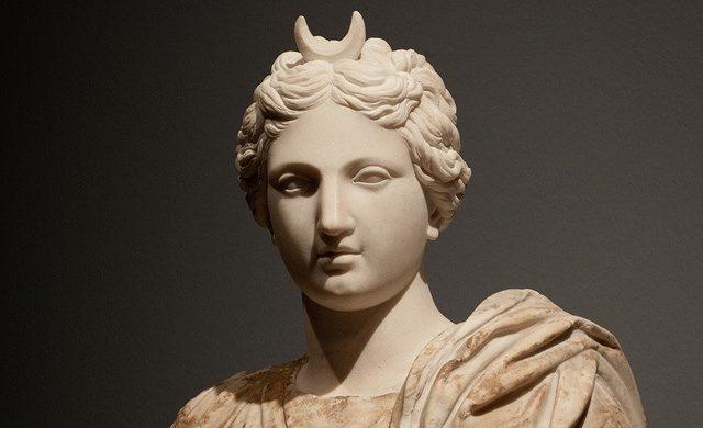 Image result for selene greek goddess