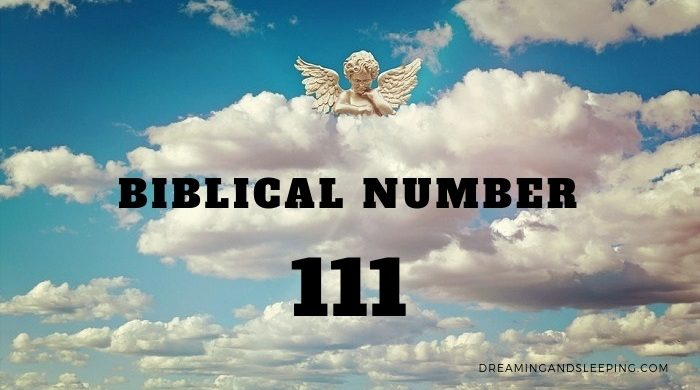 Biblical Meaning of 111