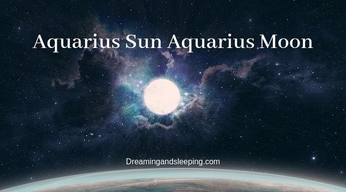 aquarius sun aquarius moon compatibility