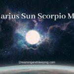 Aquarius Sun Scorpio Moon – Personality, Compatibility