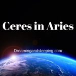Ceres in Aries