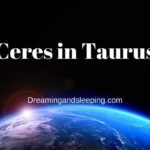 Ceres in Taurus