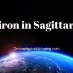 Chiron in Sagittarius