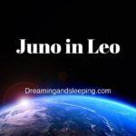 Juno in Leo