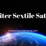 Jupiter Sextile Saturn
