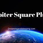 Jupiter Square Pluto Synastry