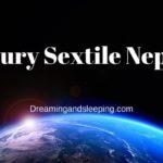 Mercury Sextile Neptune