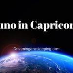 Juno in Capricorn