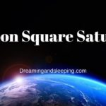 Moon Square Saturn Synastry