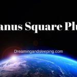 Uranus Square Pluto Synastry